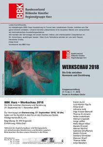 """Einladung zur Vernissage """"Werkschau 2018"""""""