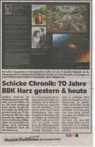 Anzeige: 70 Jahre BBK (HPa.S. 20.11.2016)