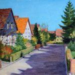 """Nr.133 """"Posener Weg In Goslar"""", Ölgemälde"""