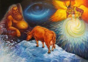 "Nr.152 ""Altgermanische Götter"" (Serie: Genesis)"