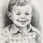 """Nr.29 """"Lachender kleiner Junge"""""""