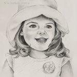 """Nr.39 """"Mädchen mit Hut"""""""