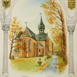 "Nr. 97 ""St. Peter und Paul auf dem Frankenberger zu Goslar"", Aquarell"