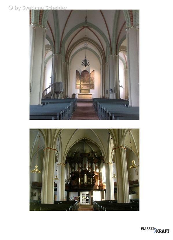 WassersKraft Vernissage, In St Salvatoris Kirche (Zellerfeld)