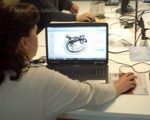 Prozess des Logo-Design
