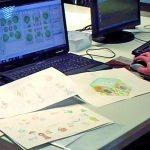 """Prozess des Spielfeld-Design für das Wurfspiel """"Hoppsala"""""""