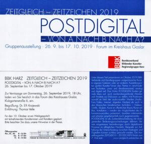 Einladung Postdigital