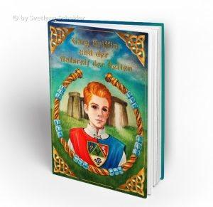 """Fantasy Jugendbuch """"Gary Griffin und der Halsreif der Kelten"""""""