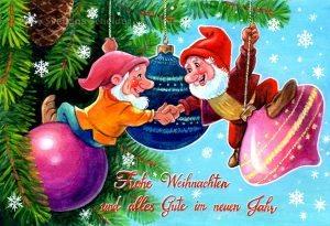 """Grußkarte """"Weihnachtszwerge"""""""