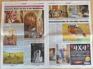 """Ausstellung """"Neben der Spur"""", Artikel im Harzer Panorama am Sontag 20.09.20"""