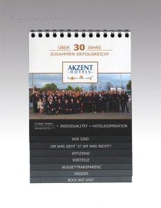 Imagebroschüre AKZENT Hotels - 30er Jubiläum, Vorderseite