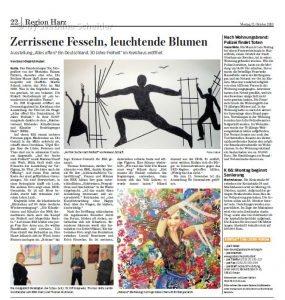 Goslarsche Zeitung, Artikel von 12.10.2020