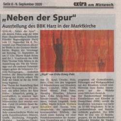 Zeitungsartikel: Ausstellung